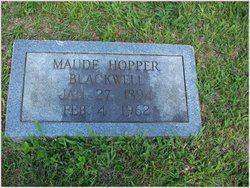 Maude <i>Hopper</i> Blackwell
