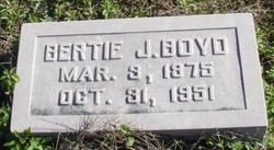 Bertie J. Boyd