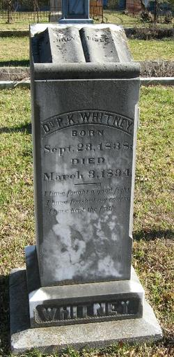 Dr Prosper King Whitney
