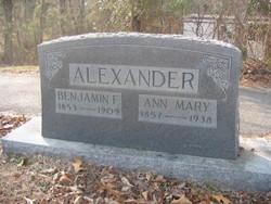 Benjamin F. Alexander