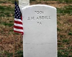 Pvt Joseph H. Abdill