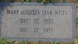 Mary Augusta <i>Link</i> Wiley