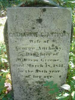 Catharine C. <i>Greene</i> Anthony