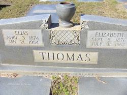Elizabeth <i>Garrett</i> Thomas