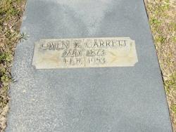 Owen K Garrett