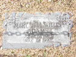 Mary Bell Willis Adams