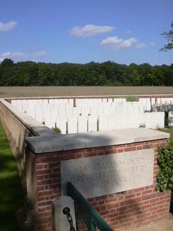 Hangard Wood British Cemetery