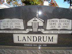 Edwin Eugene Landrum