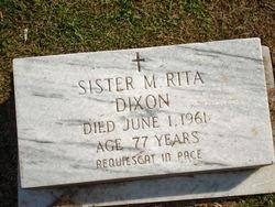 Sr M. Rita Dixon