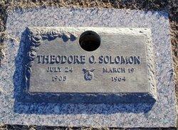 Theodore O'Bryant Solomon