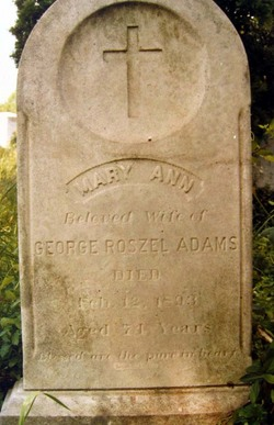 Mary Ann <i>Bontz</i> Adams