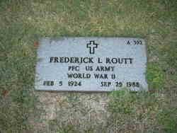 PFC Frederick L. Routt