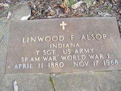 Sgt Linwood Franklin Alsop