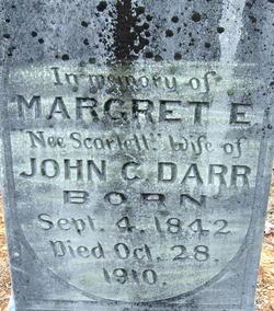 Margaret E. <i>Scarlett</i> Darr