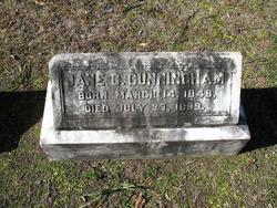 Jane Cresswell <i>Lamar</i> Cunningham