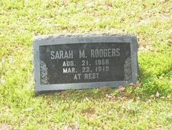Sarah Milissa <i>Richey</i> Rodgers