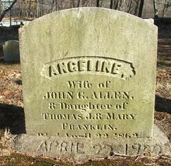 Angeline <i>Franklin</i> Allen