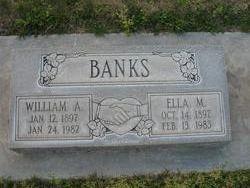 Ella M <i>Swafford</i> Banks
