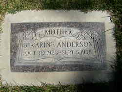 Ruth Karine Anderson