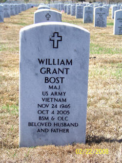 Maj William Grant Bost