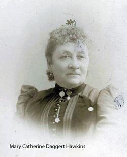 Mary C. <i>Daggert</i> Hawkins