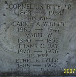 Carrie A <i>Wright</i> Tyler