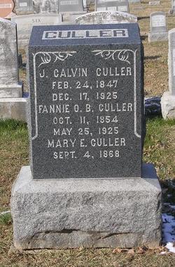 Mary Elizabeth Mollie Culler