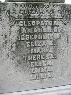 Eliza Ann <i>Dennis</i> Gordon