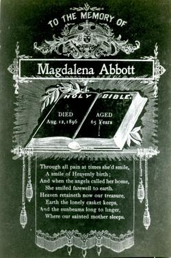 Magdalena <i>Schmeltz</i> Abbott