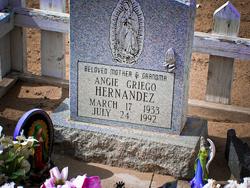 Angie <i>Griego</i> Hernandez