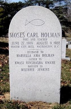 Moses Carl Holman