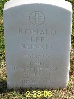 LCpl Ronald Lee Runkel