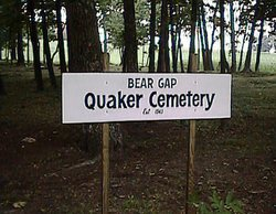 Bear Gap Quaker Cemetery