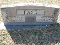 Alma <i>Chisum</i> Bass