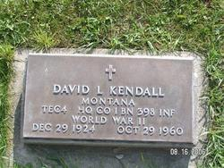 David Lacell Bud Kendall
