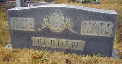 Eleanor Arden <i>Warrick</i> Burden