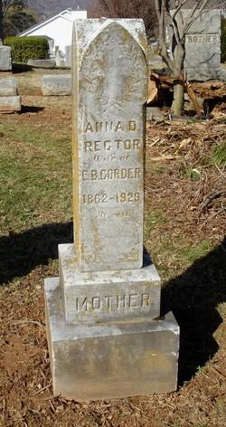 Anna D. <i>Rector</i> Corder