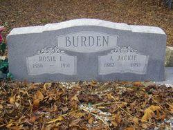 Andrew Jackson Burden