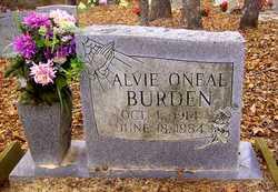 Alvie Oneal Burden