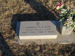 Theresia Rae Rice