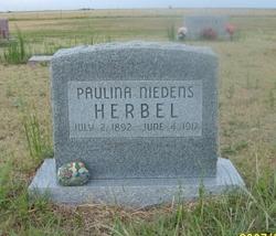 Paulina <i>Niedens</i> Herbel