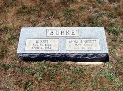 Anna J. <i>Nossett</i> Burke