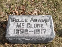 Belle <i>Adams</i> McClure