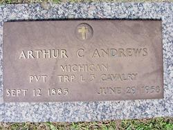 Pvt Arthur C Andrews
