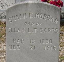 Susan E <i>Capps</i> Morgan