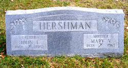 Mary Viola <i>Lewis</i> Hershman