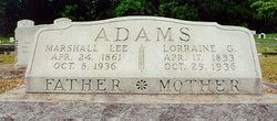 Lorraine Rachel <i>Godley</i> Adams