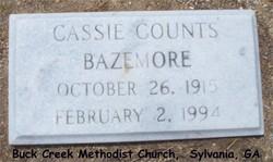Cassie Marie <i>Counts</i> Bazemore