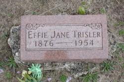 Effie Jane <i>Craft</i> Trisler