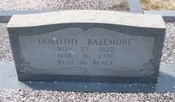Dorothy Bazemore
